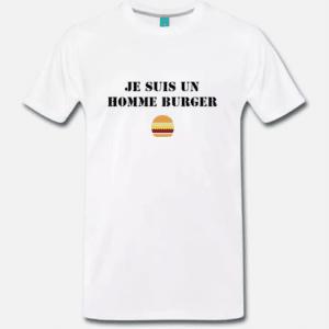 T-shirt homme burger