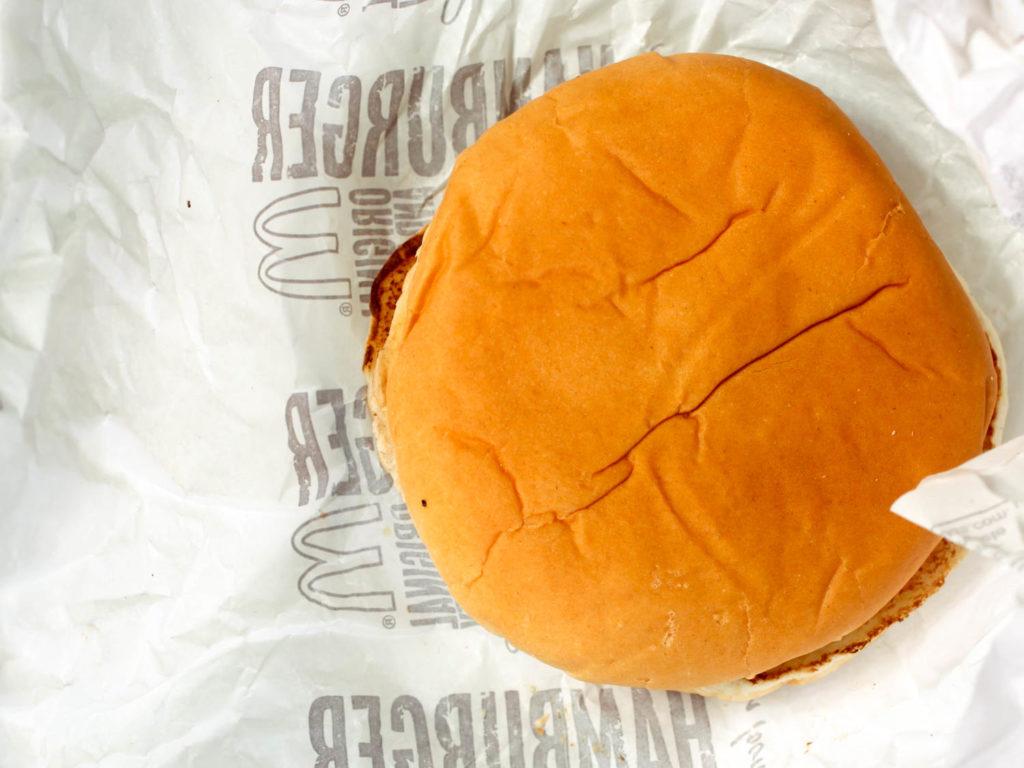 Burger McDonald's vieux d'un mois