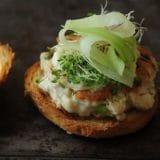 Burger thon mayonnaise wasabi