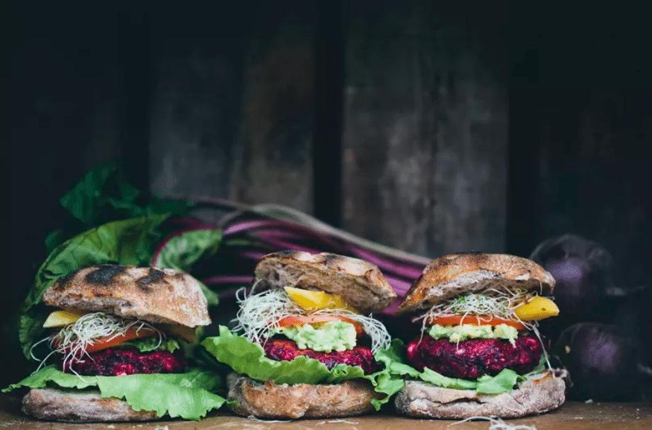 Burger Betterave et feta