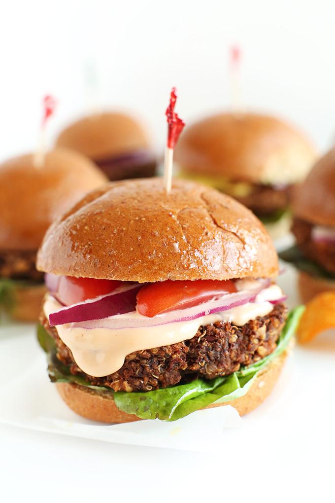Burger veggie simple