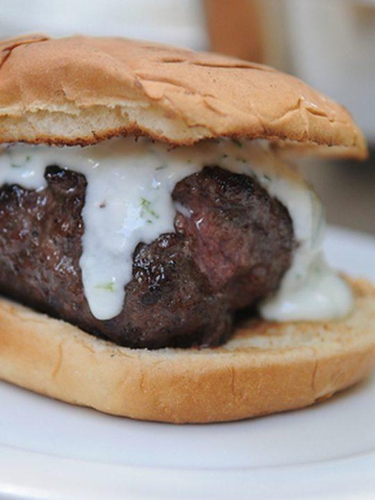 Burger agneau coriandre